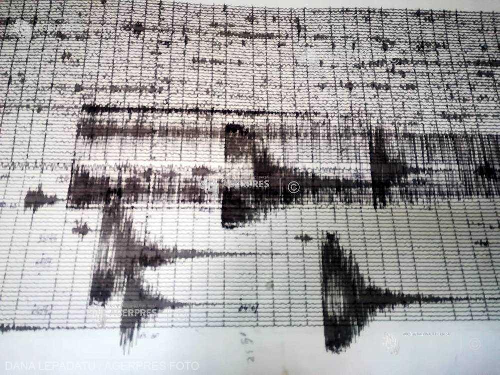 Cutremur de 3,3 grade pe scara Richter, în judeţul Vrancea