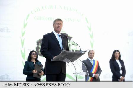 Iohannis: Legea Educației trebuie să înceteze să mai fie un puzzle ale cărui piese se schimbă continuu