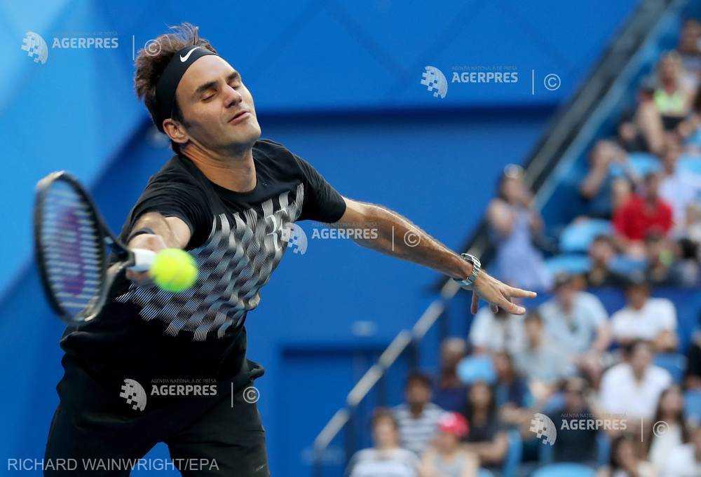 Tenis: Cupa Hopman - O nouă victorie pentru Roger Federer