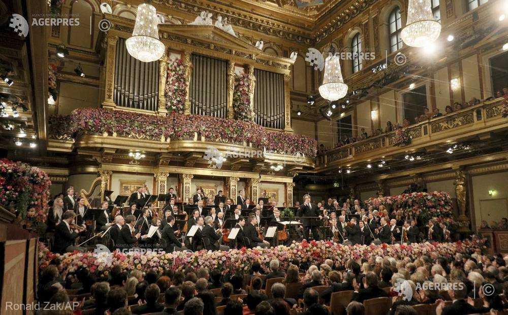 Viena păşeşte în ritm de vals în 2018 cu ocazia tradiţionalului concert de Anul Nou