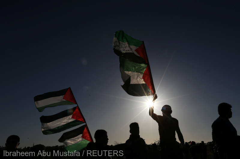 Fâşia Gaza: Doi militanţi Hamas şi doi protestatari palestinieni, ucişi de forţele israeliene