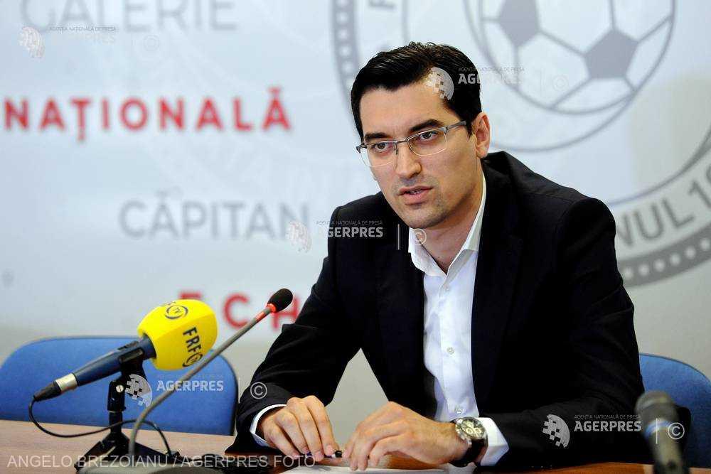 Fotbal: Burleanu (FRF) - Vom fi nevoiţi să colaborăm cu Gheorghe Popescu