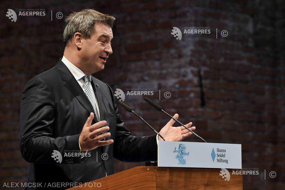 Germania: Markus Söder a fost ales în funcţia de preşedinte al Uniunii Creştin-Sociale