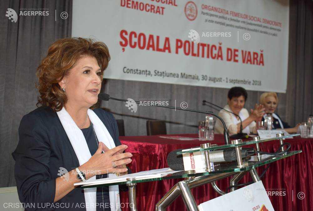 Rovana Plumb: Vom câştiga la anul ambele alegeri, şi europarlamentare, şi prezidenţiale