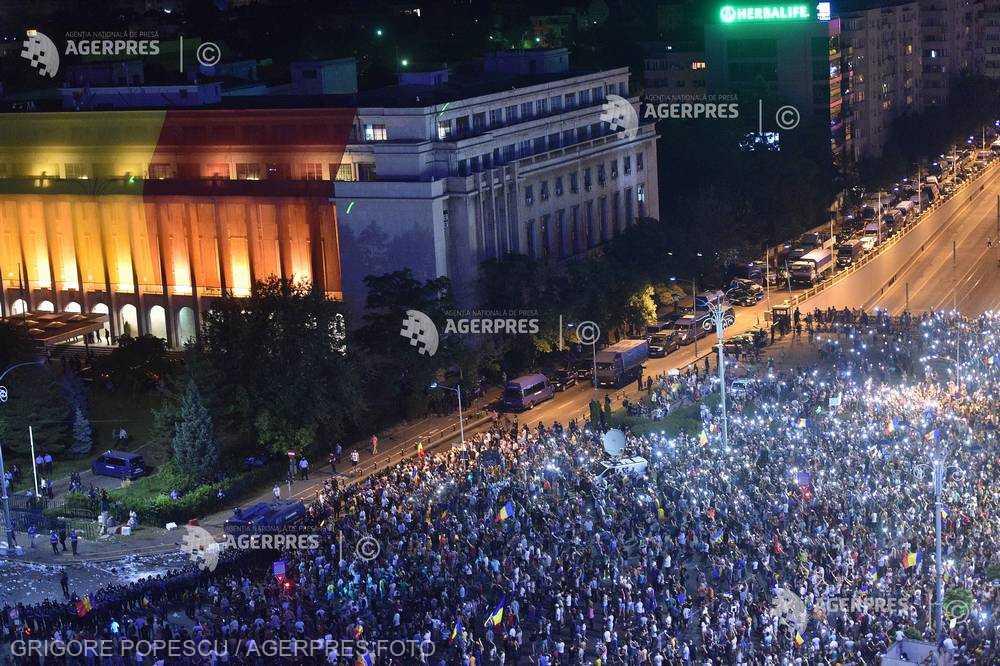 USR: Apel către Parchetul Militar pentru audierea răniţilor din spitale după mitingul diasporei