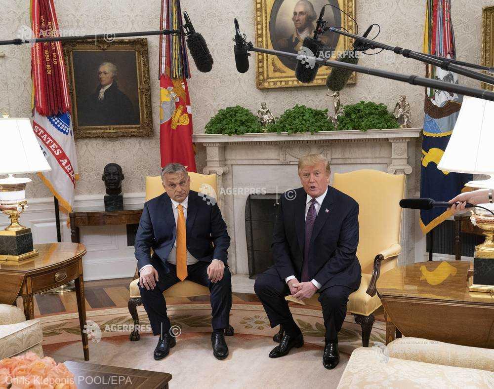 Viktor Orban a discutat cu Donald Trump problema gazelor din Marea Neagră