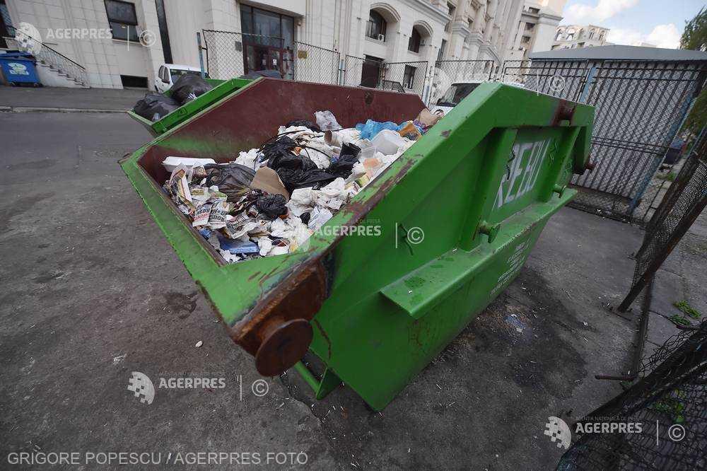 Rata de reciclare a deşeurilor municipale rămâne foarte scăzută în România, de 14% (raport CE)