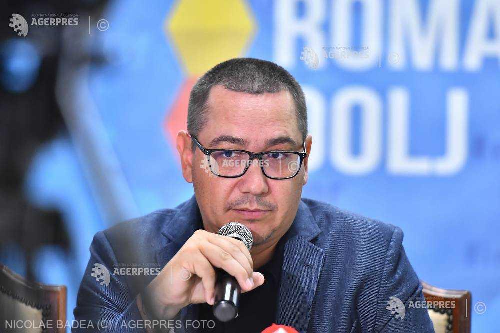 Ponta: Atragerea comisarului european Corina Creţu în bătăliile politice interne - o mare greşeală