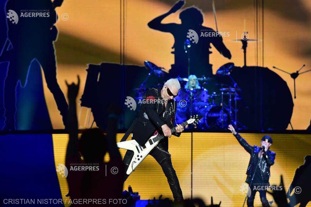 Concert Scorpions la Bucureşti
