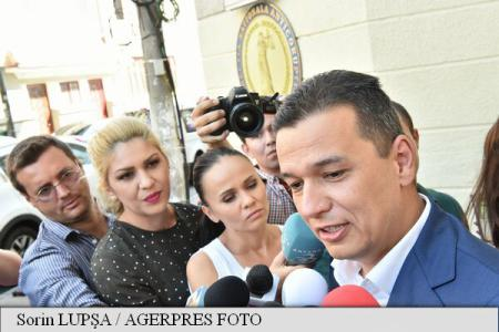 Sorin Grindeanu, la DNA: Am calitatea de martor