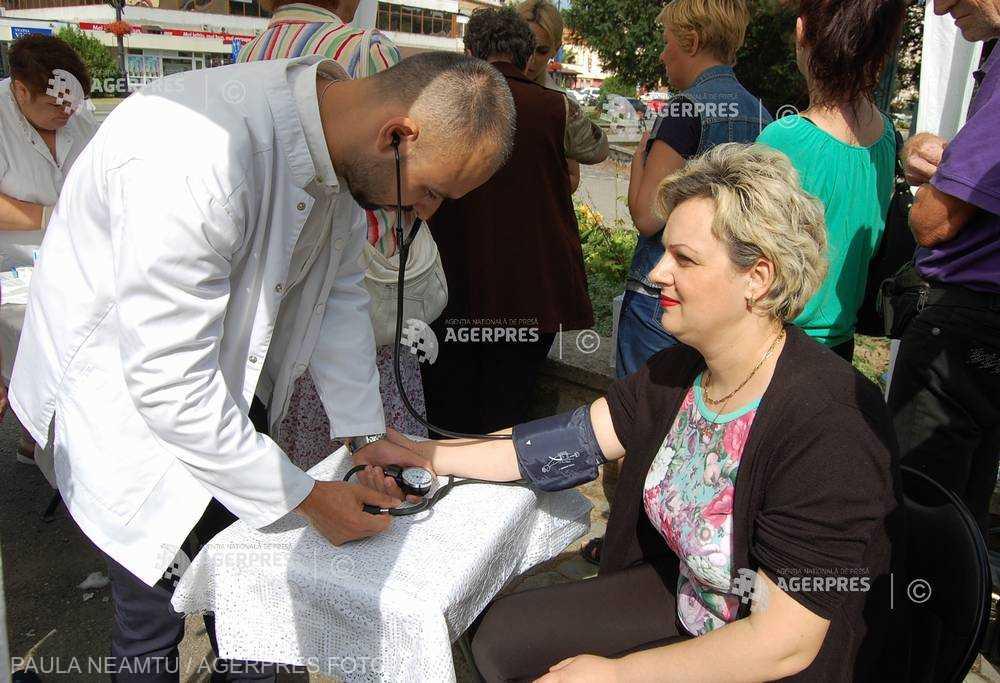 Campanie de informare privind hipertensiunea arterială în Parcul ''Alexandru Ioan Cuza''