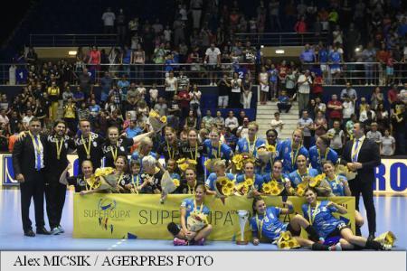 Handbal feminin: CSM București a câștigat Supercupa României
