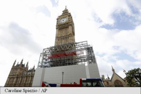 Big Ben va rămâne tăcut pentru următorii patru ani