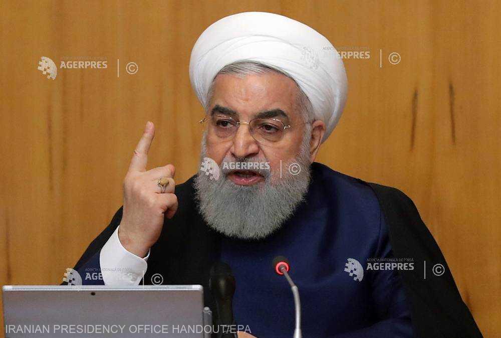Iran: Preşedintele Rouhani cheamă la unitate facţiunile interne pentru a face faţă presiunii SUA