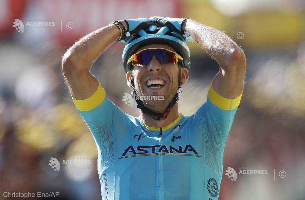 Ciclism: Spaniolul Omar Fraile (Astana) a câştigat etapa a 14-a a Turului Franţei