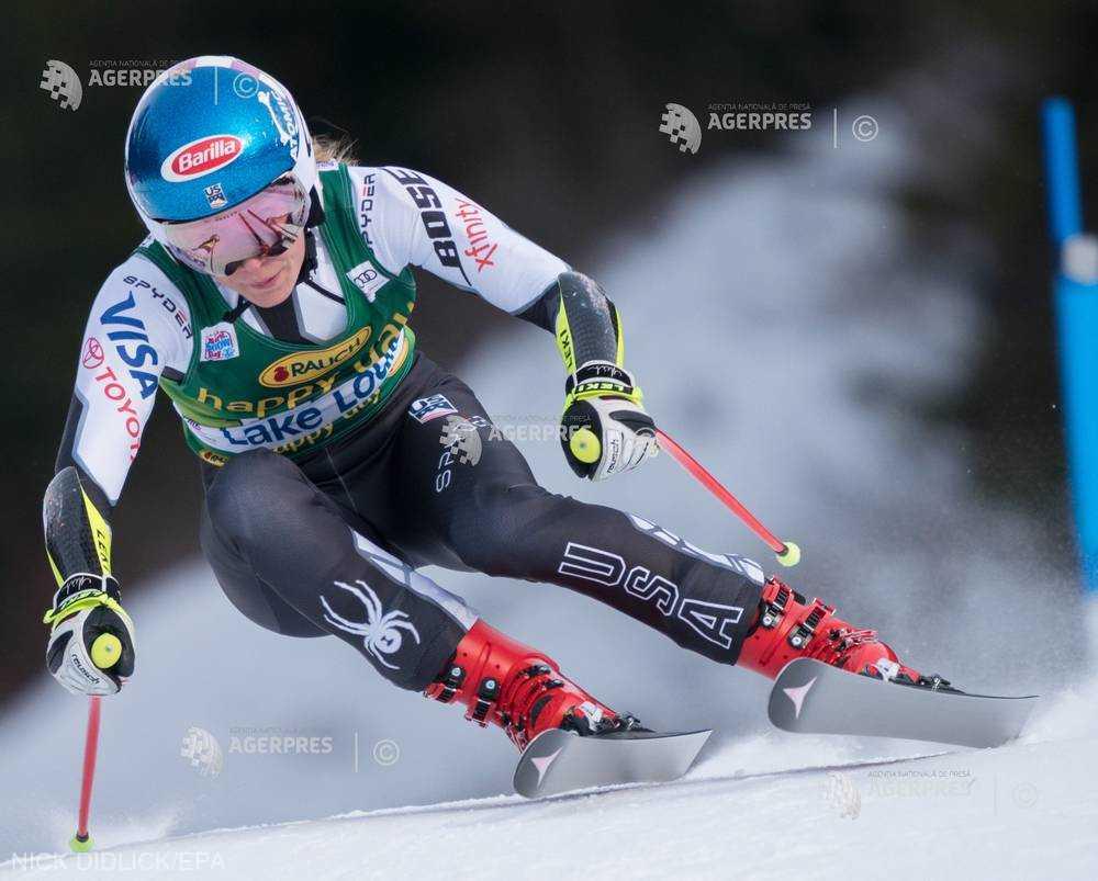 Schi alpin: Cupa Mondială - Mikaela Shiffrin a intrat în istorie