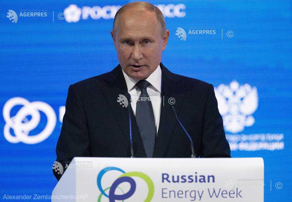 Vladimir Putin: Donald Trump ar trebui să se învinovăţească singur pentru preţurile mari la petrol
