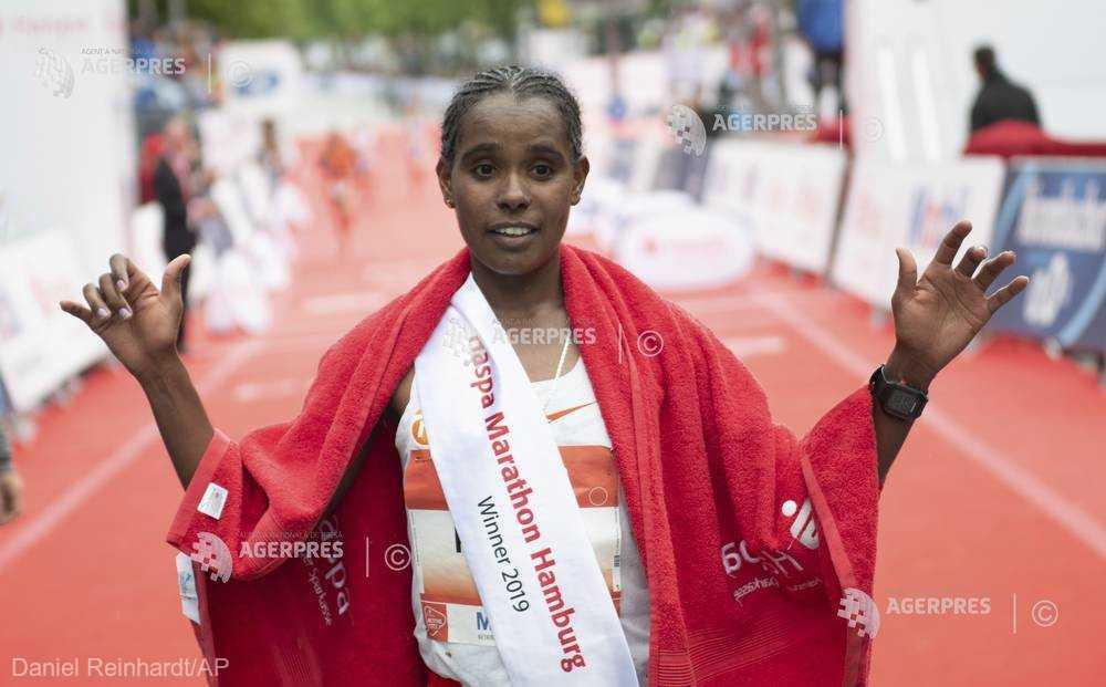 Atletism: Dublă etiopiană în maratonul de la Hamburg