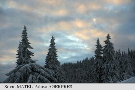 ANM: Ninsori și viscol la munte, precipitații mixte și vânt puternic în restul regiunilor, până duminică seara