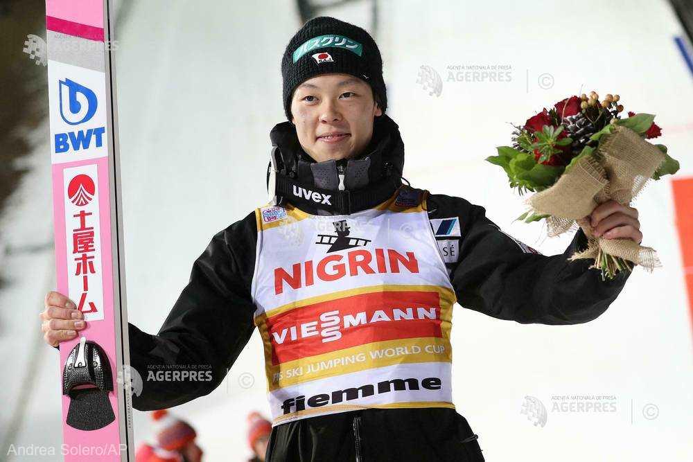 Sărituri cu schiurile: Japonezul Ryoyu Kobayashi, învingător în concursul de la Val di Fiemme (Italia)