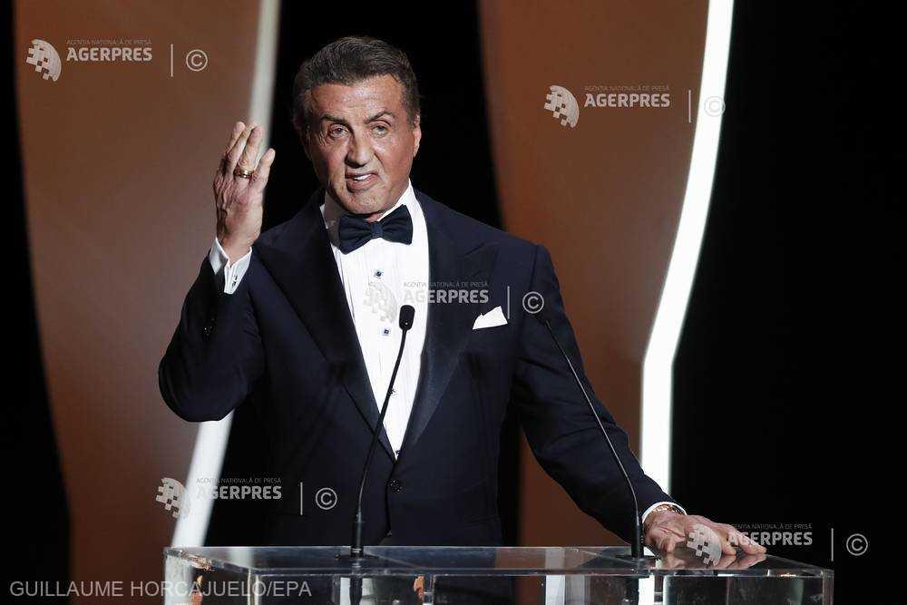 Actorul Sylvester Stallone a declarat că nu se aştepta să reuşească în industria filmului