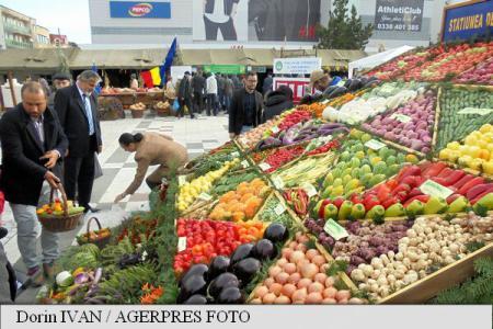 Cei mai mulți români de la oraș preferă ca alimentele pe care le consumă să aibă origine românească (studiu)