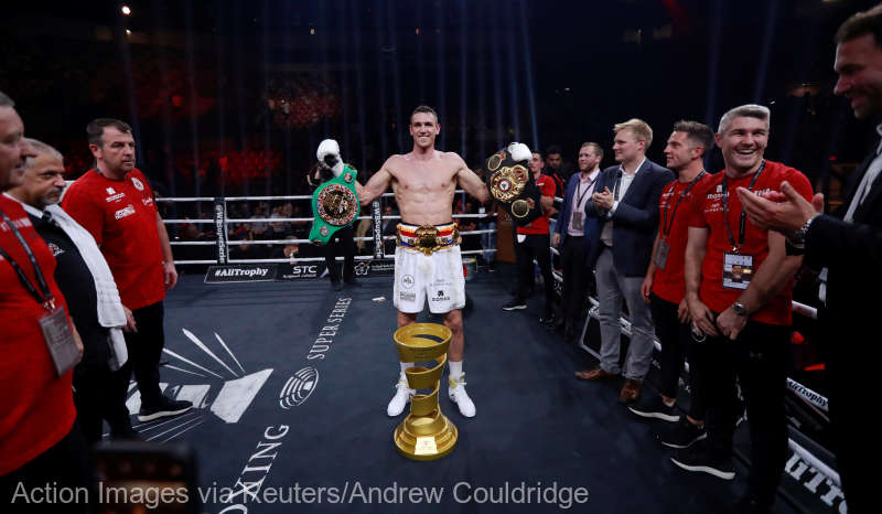 Box: Britanicul Callum Smith, noul campion mondial WBA la supermijlocie