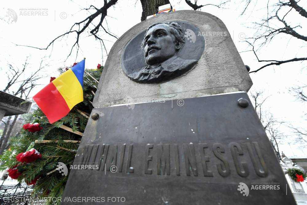 Arhiepiscopia Bucureştilor: Slujbe de pomenire pentru poetul naţional Mihai Eminescu, la 169 de ani de la naştere