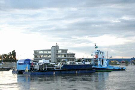 Milioane tone mărfuri transportată pe Dunăre - primele luni 2013