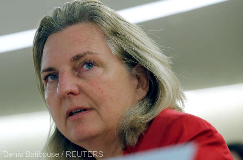 Şefa diplomaţiei austriece, Karin Kneissl: Sperăm că România va răspunde preocupărilor privind modificările la codurile penale