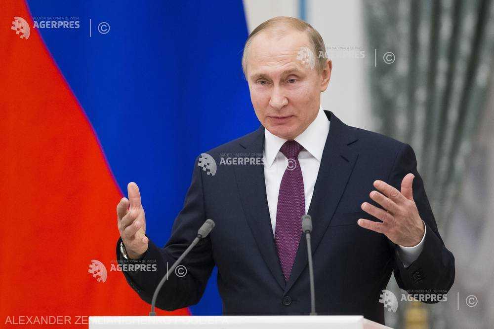 Paştele ortodox: Putin îi felicită pe credincioşii ruşi