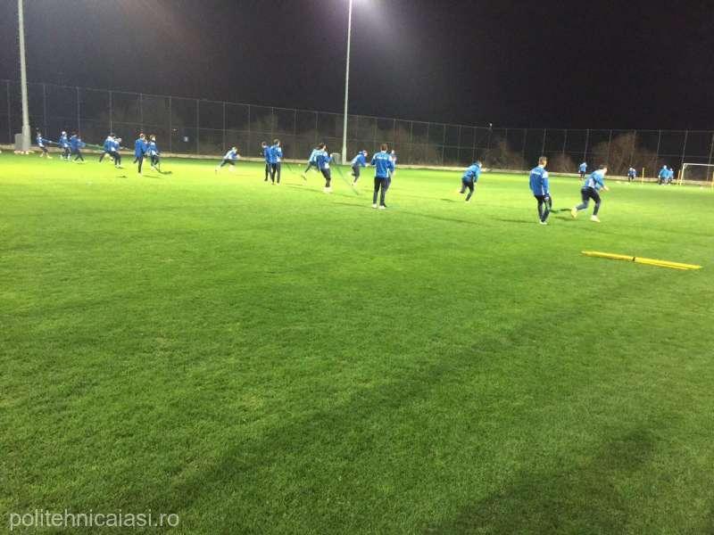 CSM Poli Iaşi va susţine cinci meciuri amicale în stagiul din Antalya