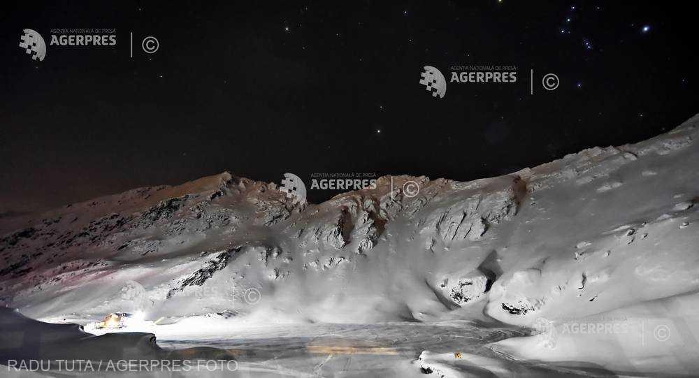 Sibiu: Risc mare de avalanşe la Bâlea Lac, în masivul Făgăraş