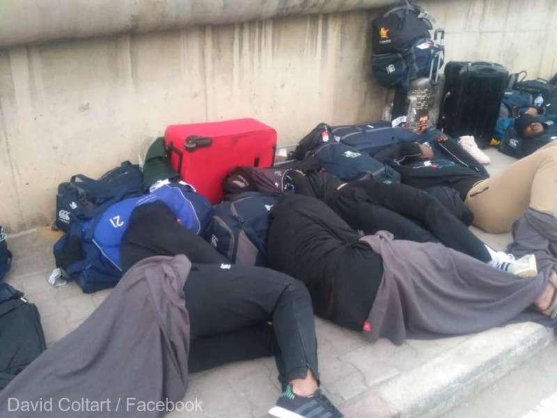 Rugby: Jucătorii naţionalei din Zimbabwe au dormit pe stradă, înaintea unui meci cu Tunisia