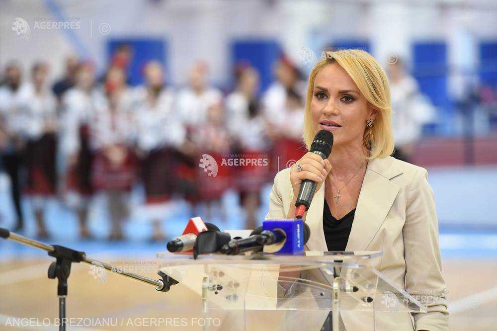 Primarul Gabriela Firea anunţă construirea a 3 săli de sport multifuncţionale de mari dimensiuni în Bucureşti