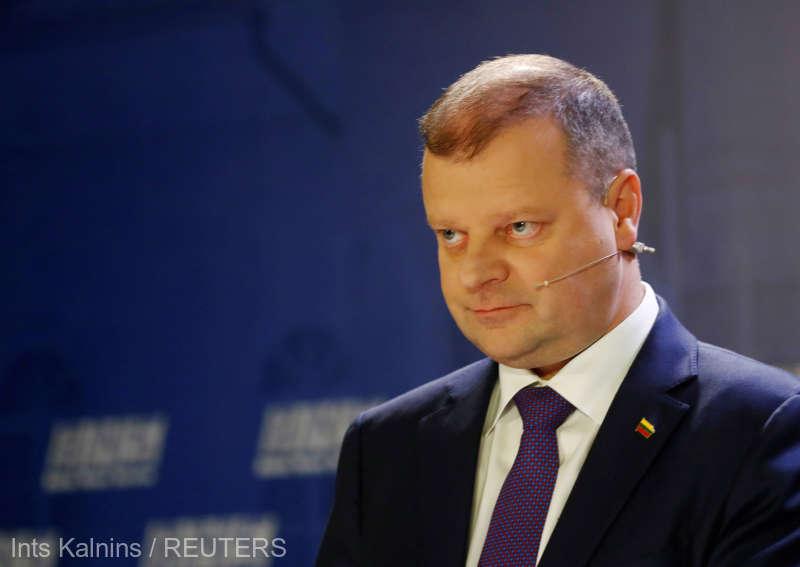 Prezidenţiale în Lituania: Învins, premierul Saulius Skvernelis şi-a anunţat demisia