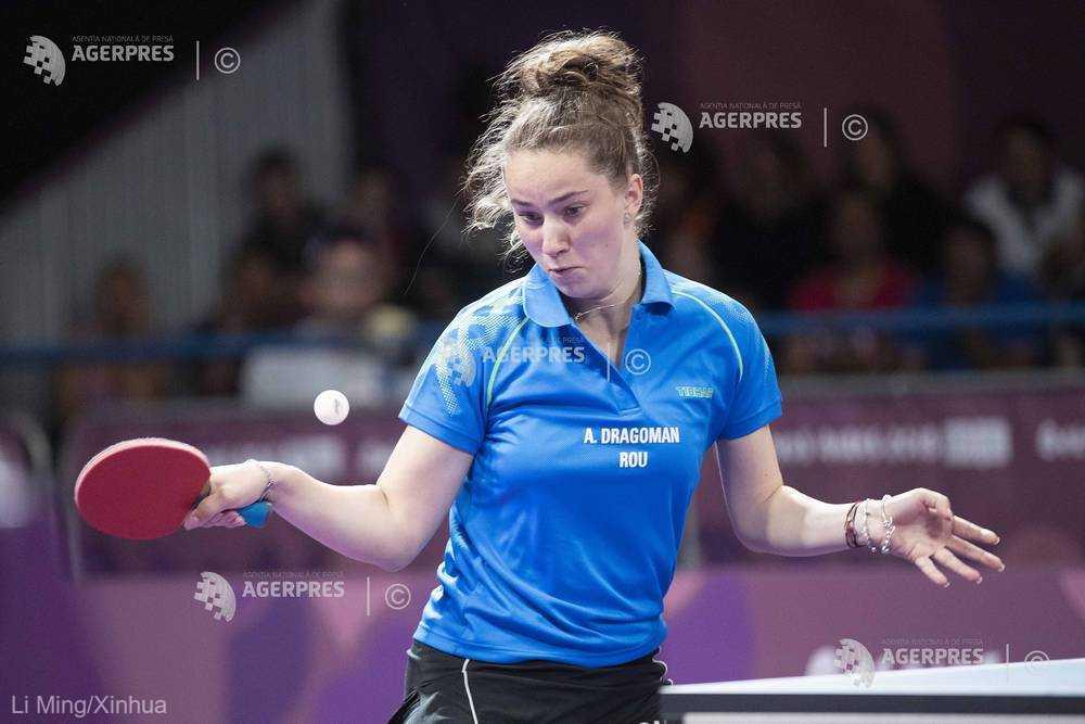 Tenis de masă: Andreea Dragoman şi Cristian Chiriţă au câştigat Top 12