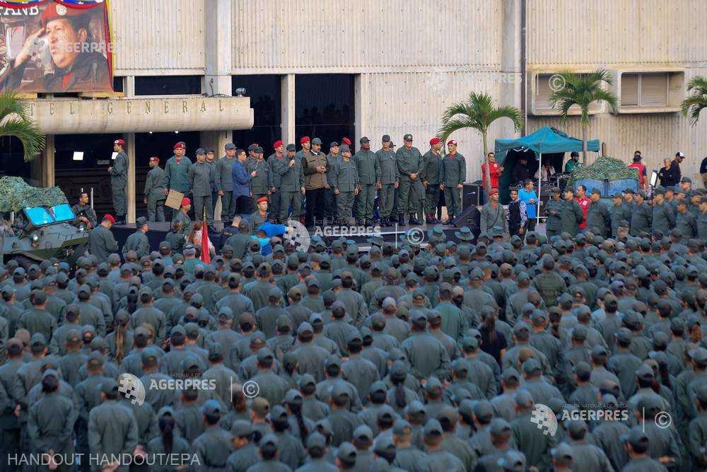 Venezuela: Maduro cere armatei să fie ''gata'' în caz de atac american