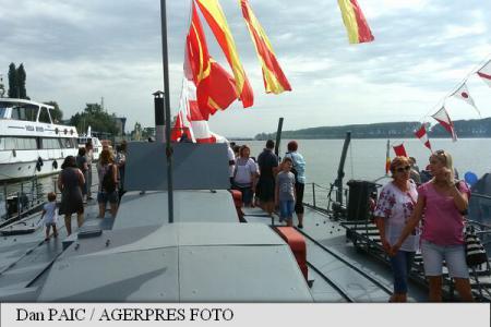 Galați: Peste 1.000 de persoane la Ziua Porților Deschise de la Flotila Fluvială